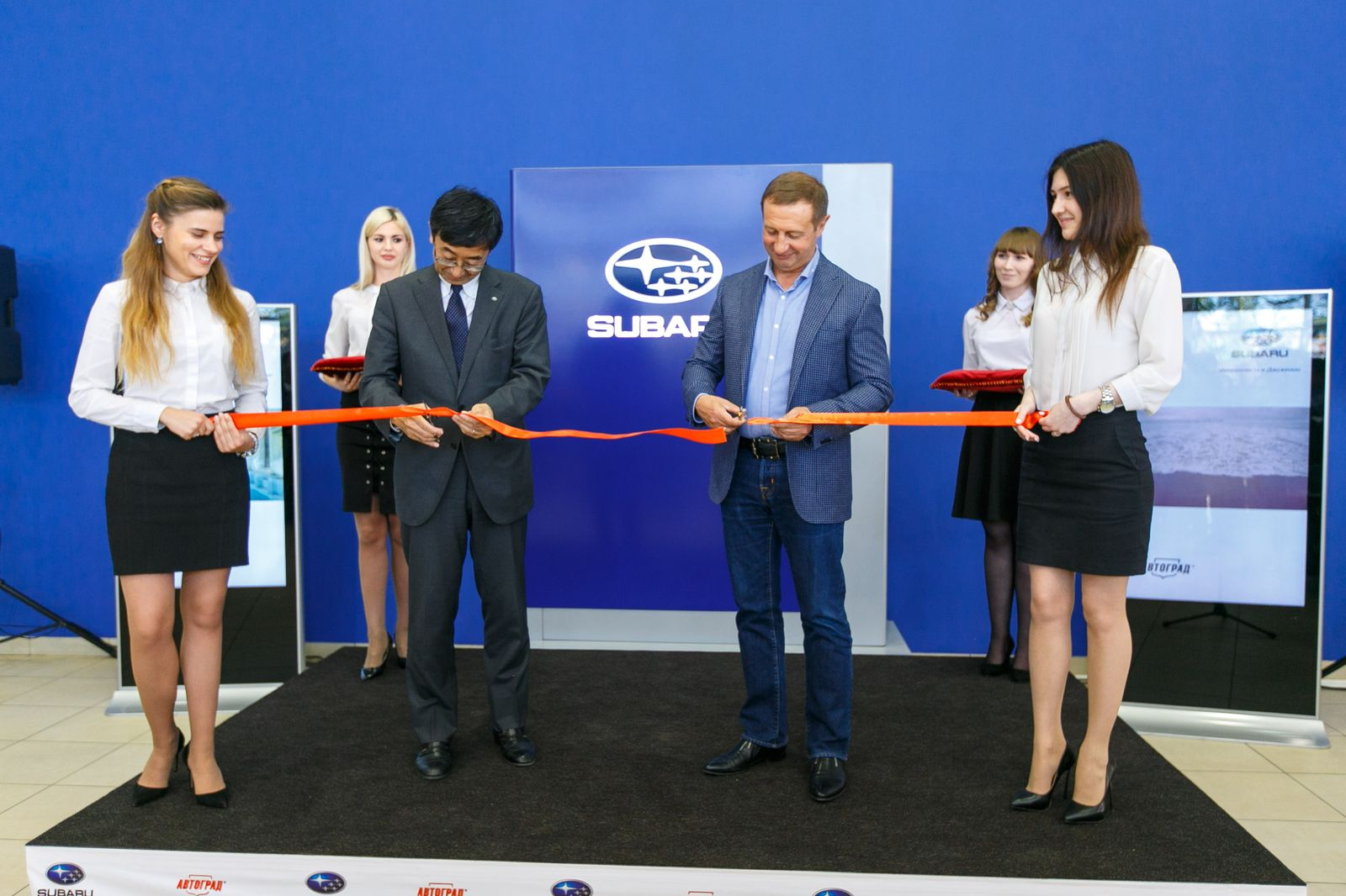 Торжественное открытие нового дилера Subaru в Тюмени - «Автоцентр Автоград»